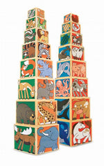 Blocks de Animalitos | Juguetes Educativos | Melissa & Doug - Bebe2go.com
