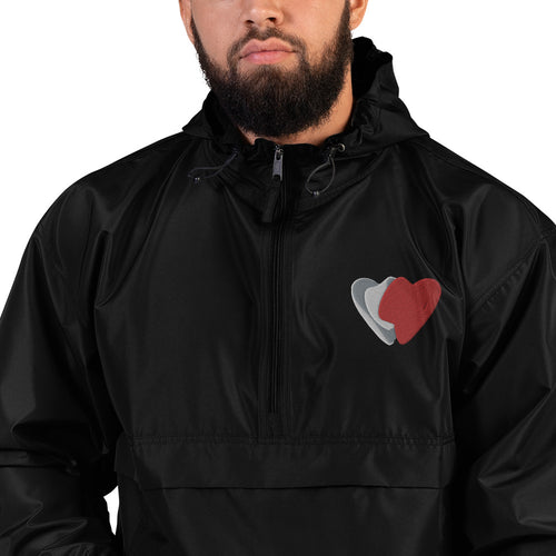 Bart and Baker Collection Embroidered Champion Packable Jacket