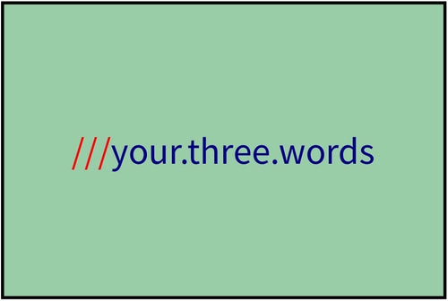 what3words - Sage