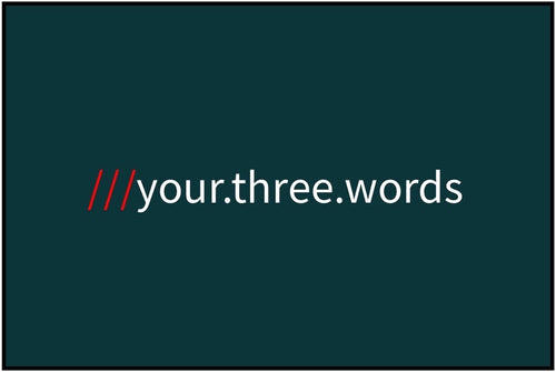 what3words - Pine