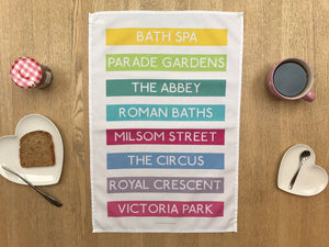 Bath Spa (No.2) Tea Towel