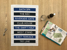 Load image into Gallery viewer, Bath Rugby Tea Towel