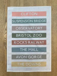 Clifton Tea Towel