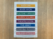 Load image into Gallery viewer, Bath Spa (No.1) Tea Towel