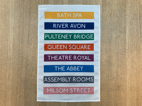 Bath Spa (No.1) Tea Towel