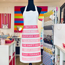 Load image into Gallery viewer, Bath Rugby Apron (Pink)
