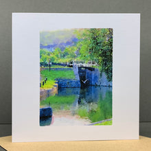 Load image into Gallery viewer, Heron at Deep Lock, Widcombe, Bath