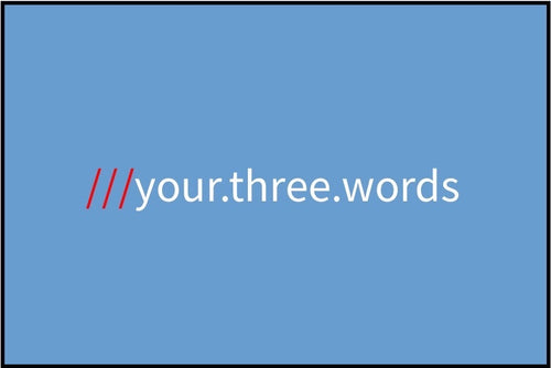what3words - Sky