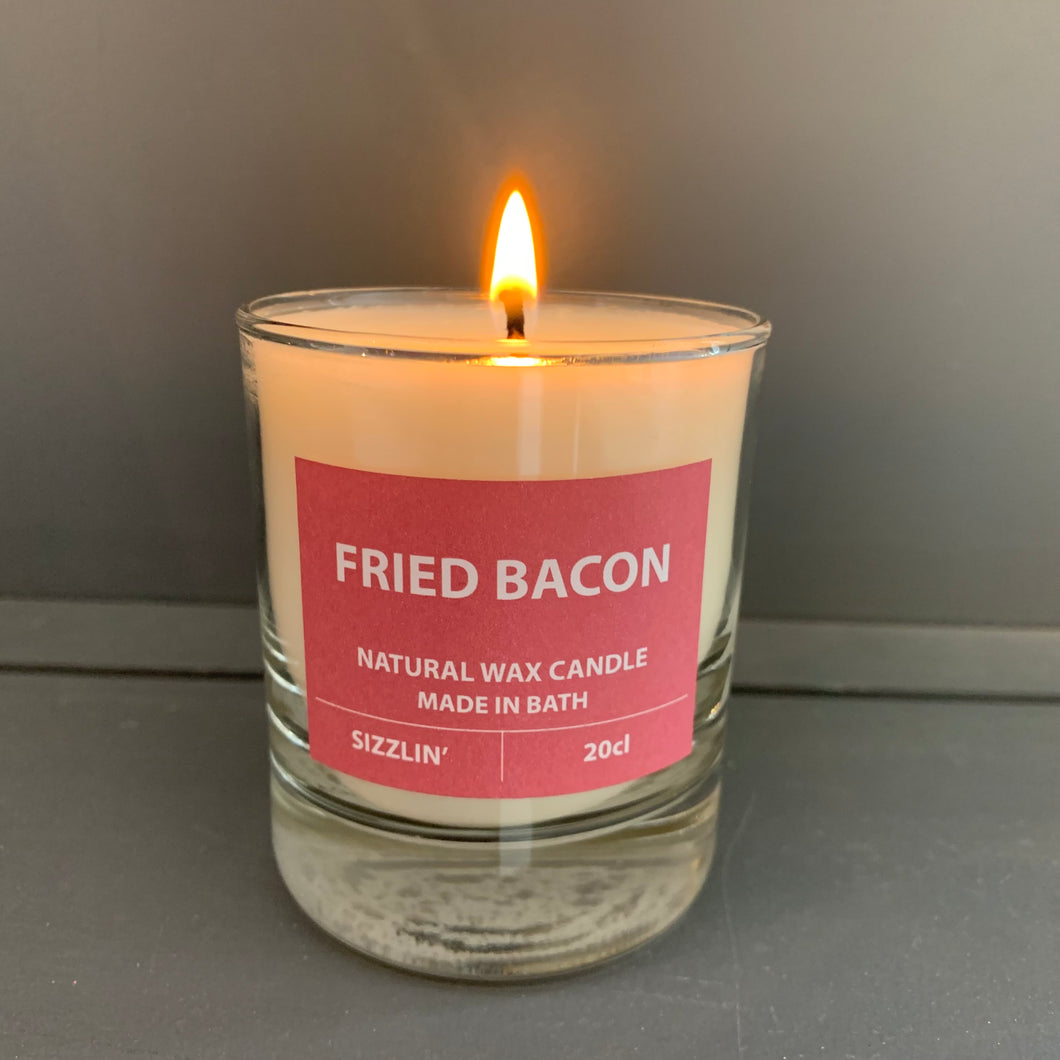 Fried Bacon Candle