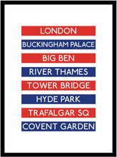 Load image into Gallery viewer, London Destination Framed Print