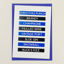 Load image into Gallery viewer, Rugby Christmas Card Pack Food & Drink