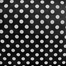 Load image into Gallery viewer, White Polka Dots Gift Wrap