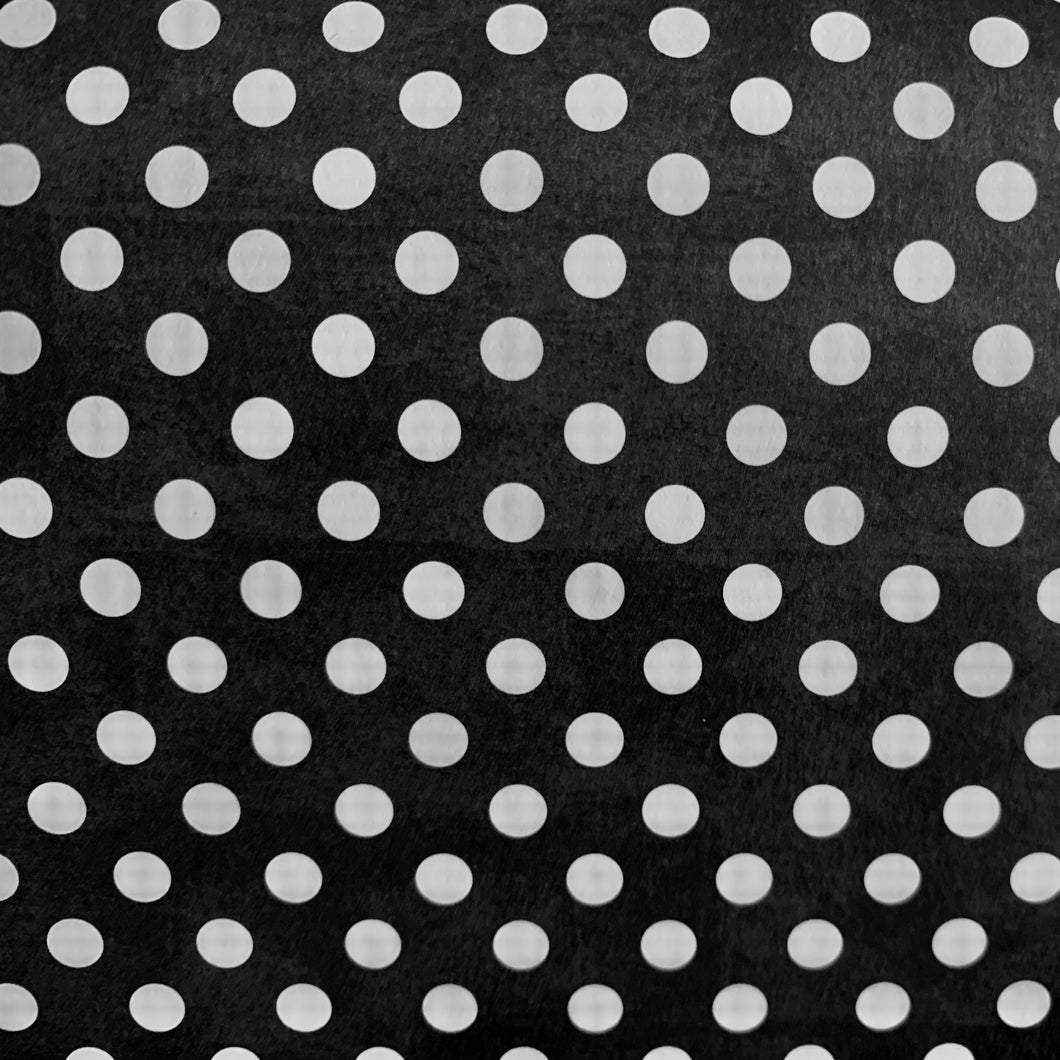 White Polka Dots Gift Wrap