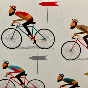Cyclists Gift Wrap