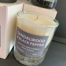 Load image into Gallery viewer, Sandalwood and Black Pepper Candle