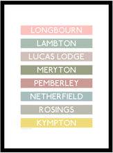 Load image into Gallery viewer, Jane Austen Destination Framed Print
