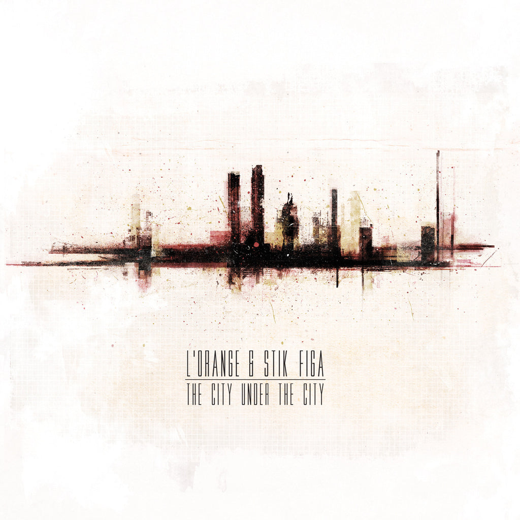 L'Orange & Stik Figa - The City Under The City (CD)