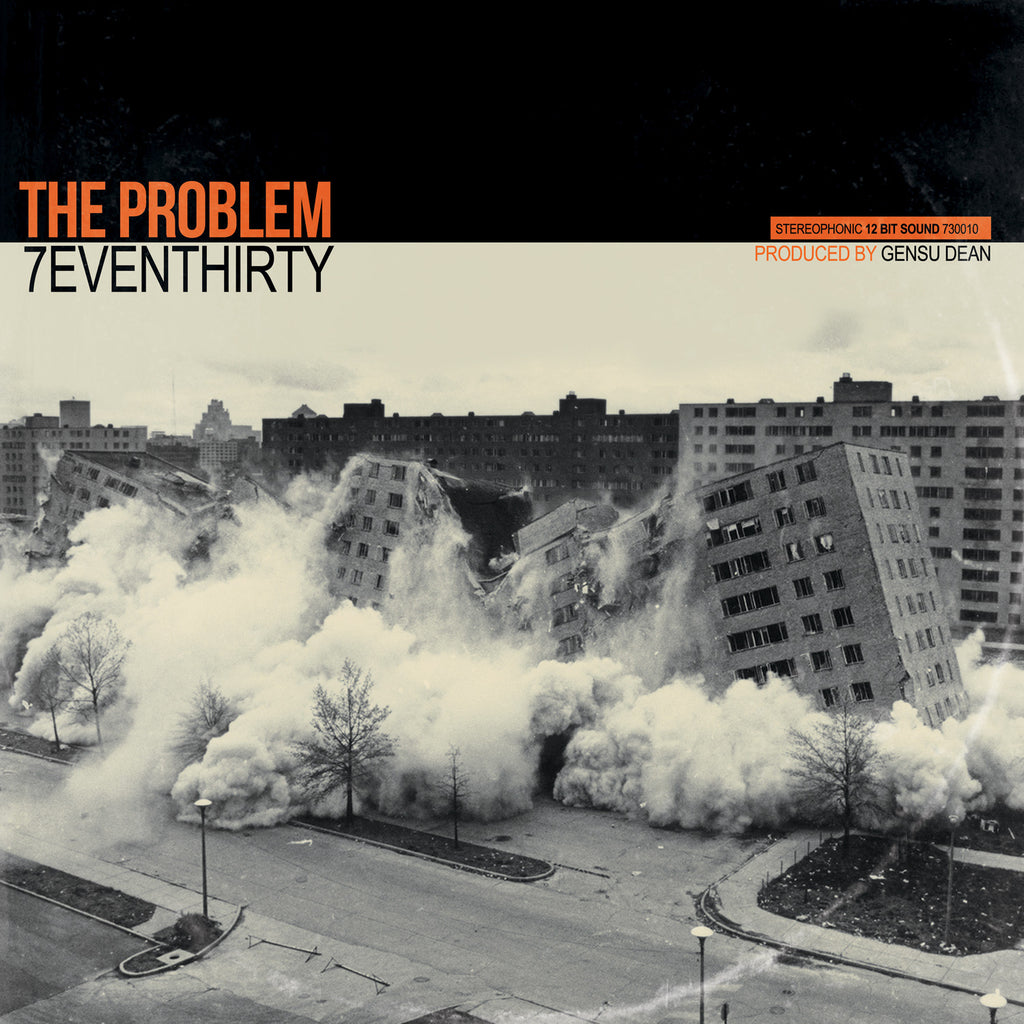 7evenThirty & Gensu Dean - The Problem (Black LP)