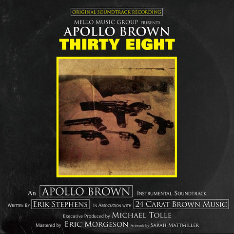Apollo Brown - Thirty Eight (LP)