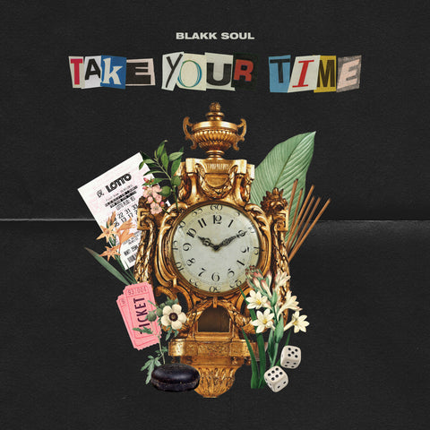 "Blakk Soul ""Take Your Time"" (CD)"