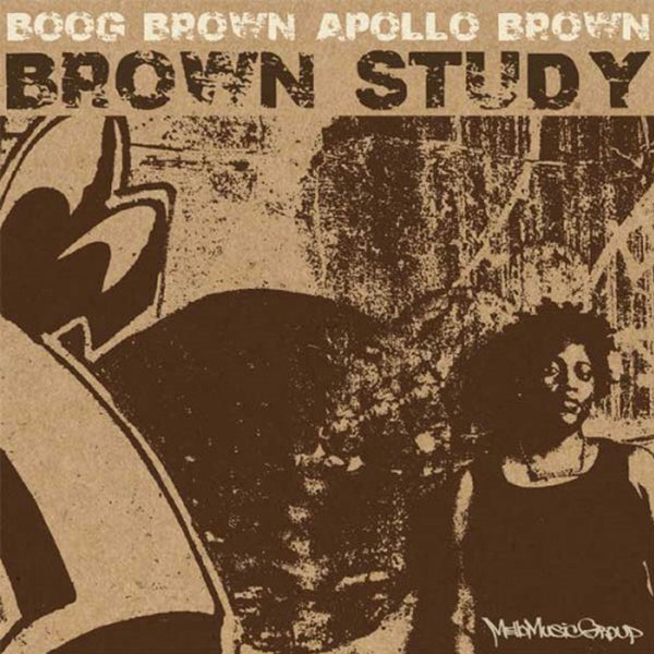 Apollo Brown & Boog Brown - Brown Study (CD)