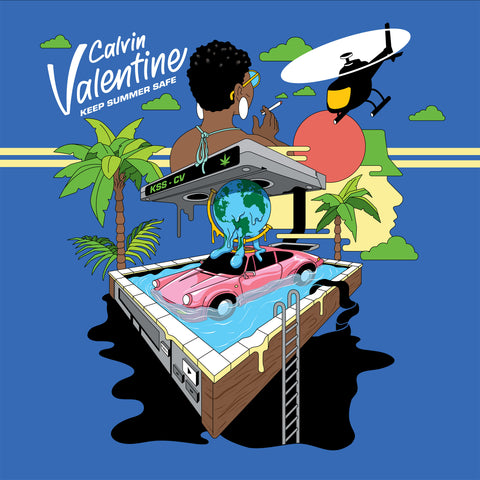 Calvin Valentine - Keep Summer Safe (CD)