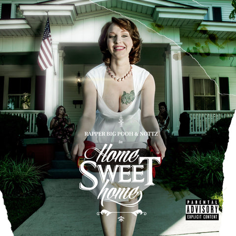 Rapper Big Pooh & Nottz - Home Sweet Home (CD)