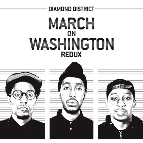 Diamond District - March On Washington Redux (Black & White Swirl LP + Bonus 45)