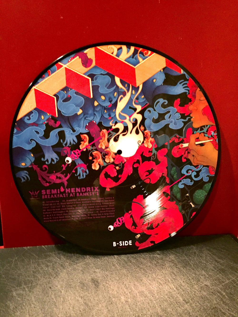 Semi Hendrix (Ras Kass & Jack Splash) - Breakfast At Banksy's (Picture Disc 2xLP)