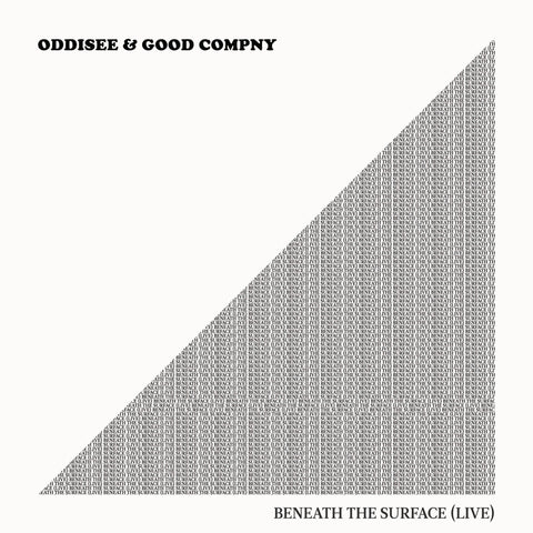 Oddisee & Good Compny - Beneath The Surface (Live) (CD)