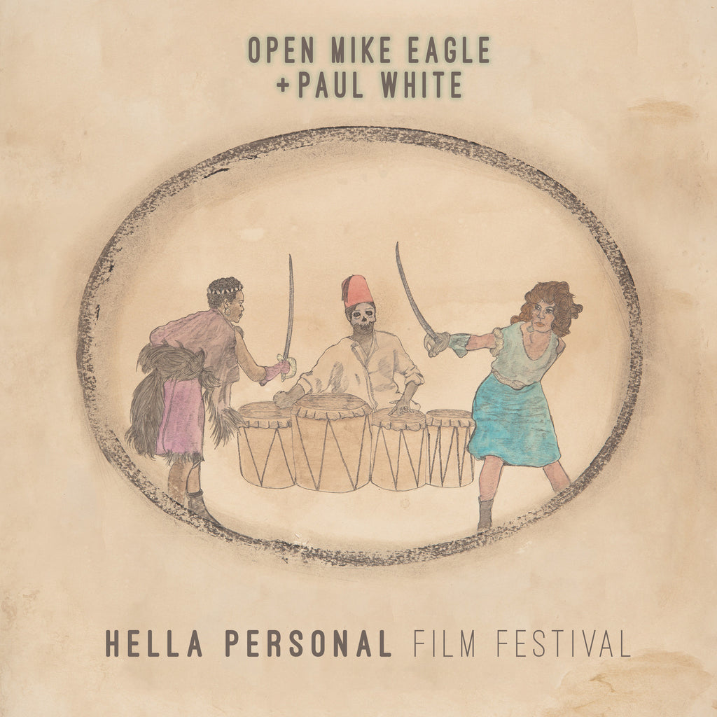 Open Mike Eagle & Paul White - Hella Personal Film Festival (Cassette)