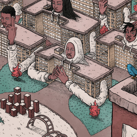 Open Mike Eagle - Brick Body Kids Still Daydream (Pre-Order LP)
