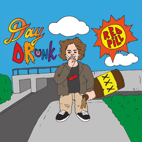 Chris Orrick - Day Drunk EP (8 Color Double Rainbow LP)