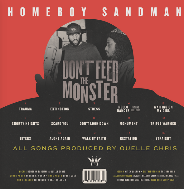 Homeboy Sandman - Don't Feed The Monster (2xLP)