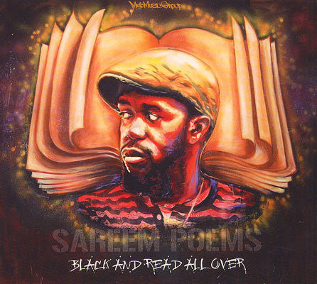 Sareem Poems - Black & Read All Over (CD)
