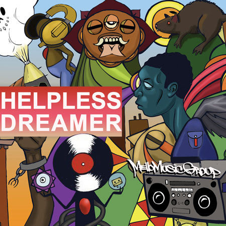 MMG - Helpless Dreamer (CD)