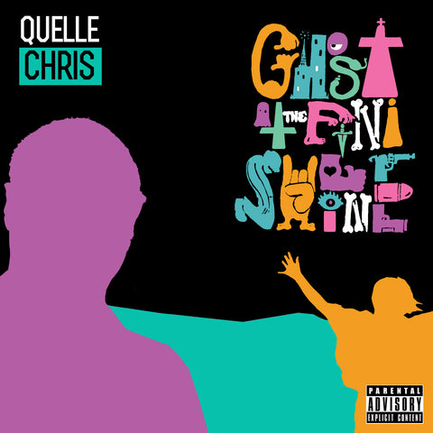 Quelle Chris - Ghost at the Finish Line (Tri-Color LP)