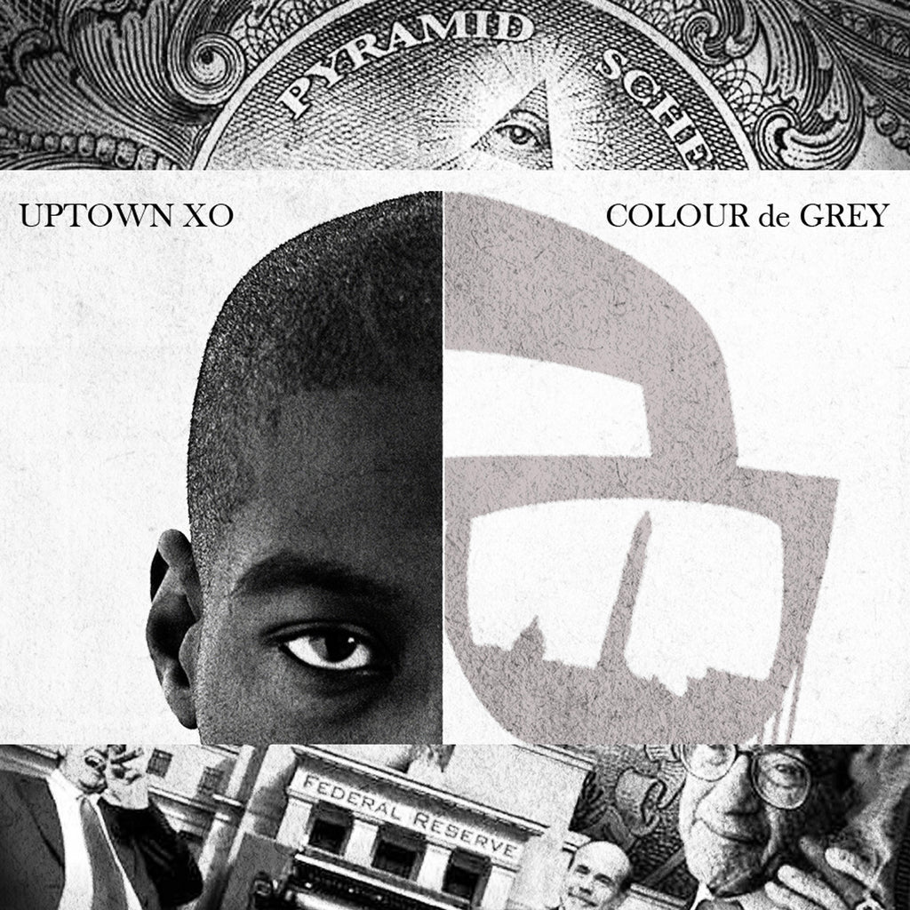 Uptown XO - Colour de Grey (LP - LTD)