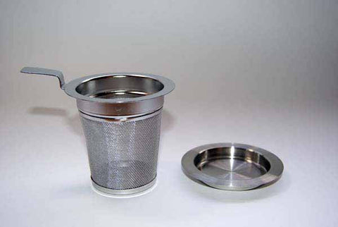 Tea Strainer with Lid/Tray