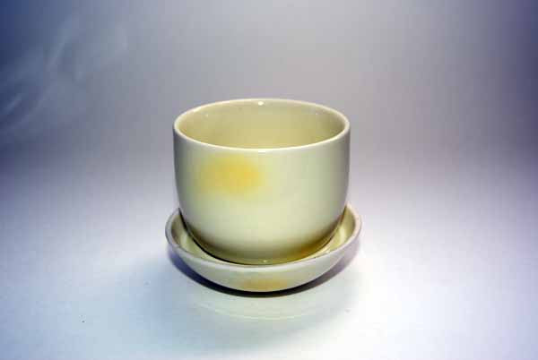 Tea Cup Matcha Bowl with Lid
