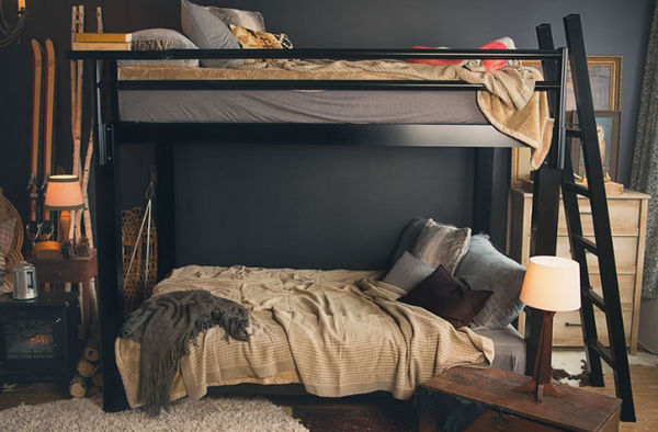 decorating college apartment - adult bunk beds