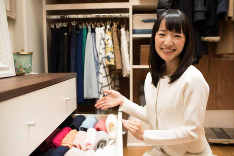 Marie Kondo is the face of the modern decluttering movement in the US. (Source: Marie Kondo/Facebook)
