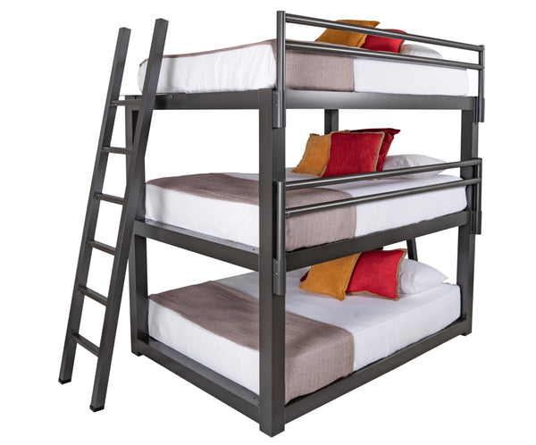 Adult Triple Bunk Bed Queen Size