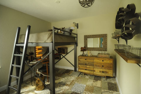 loft bed guest room bed ideas
