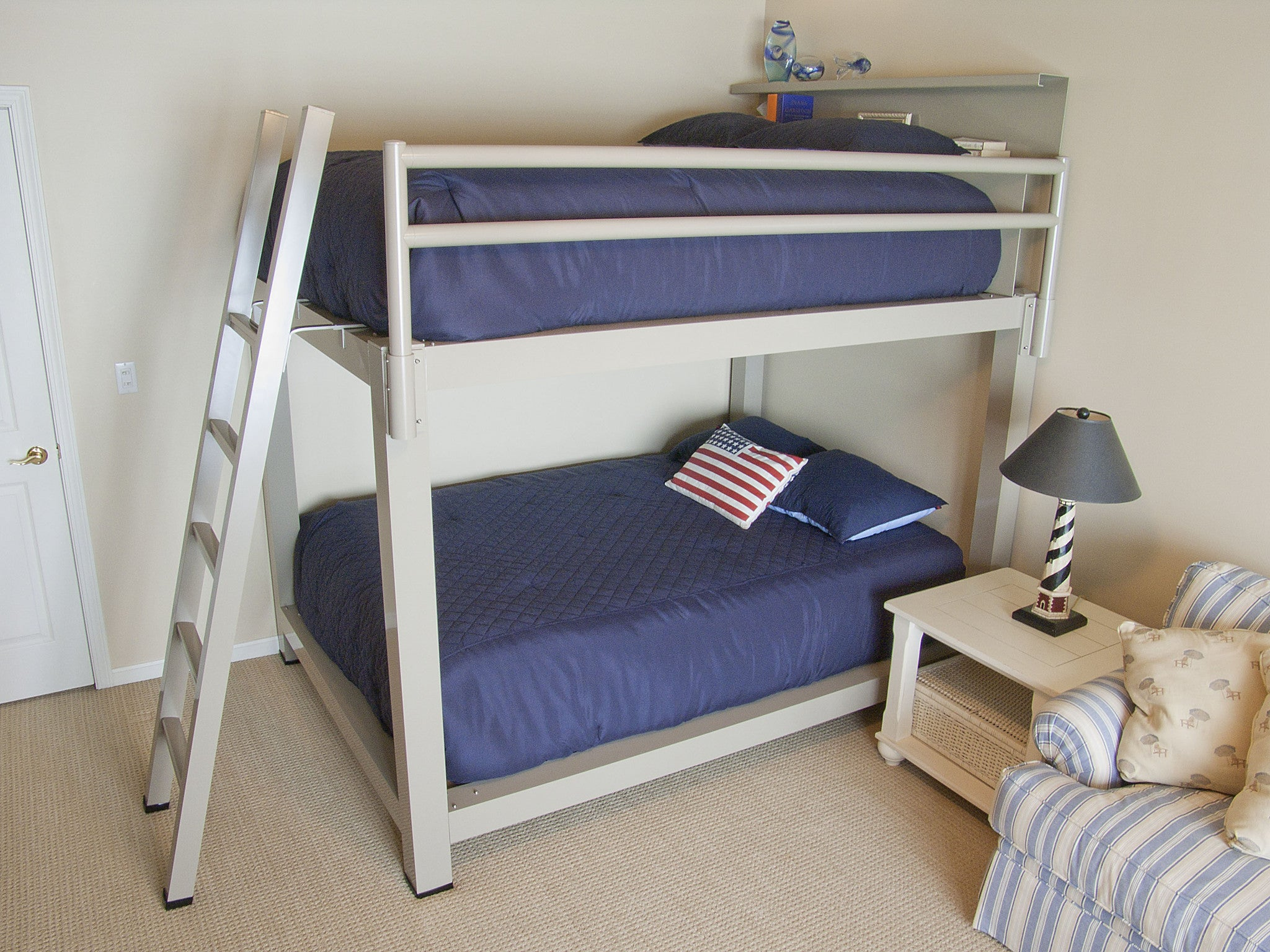 Queen Over King Bunk Bed Francis Lofts Amp Bunks
