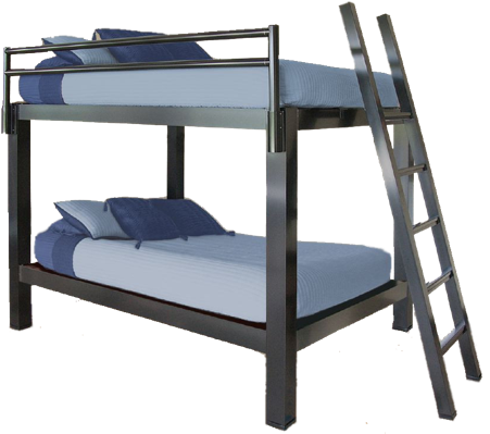 Bunk Bed Image king over king bunk bed - francis lofts & bunks