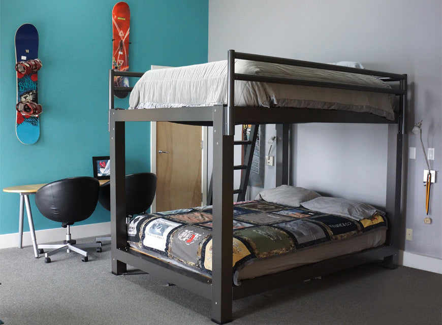 Bunk bed for adults francis lofts bunks Adult loft bed