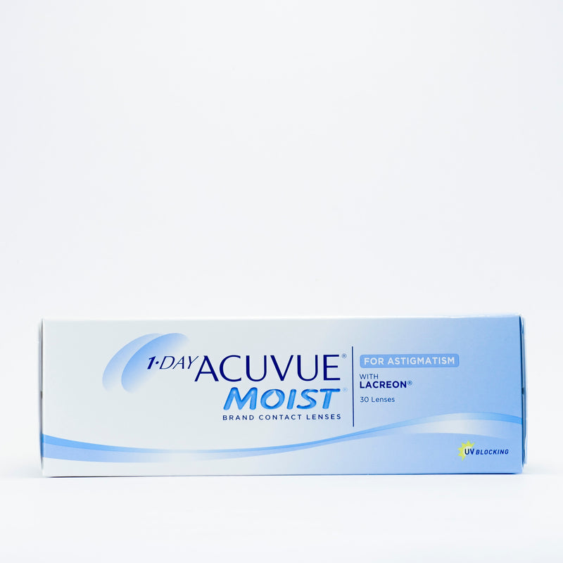 1 Day Acuvue Moist for Astigmatism 30 & 90 pack