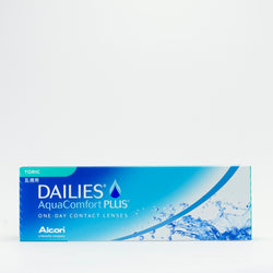Dailies Aquacomfort Plus Toric 30 & 90 pack