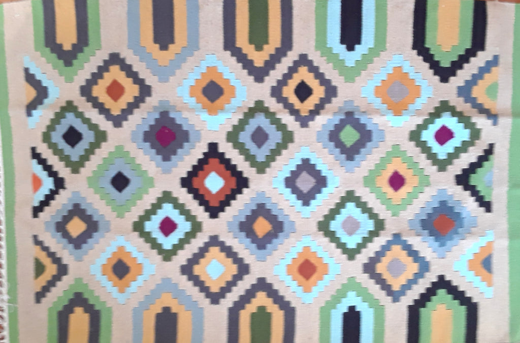 Green Diamond Kilim